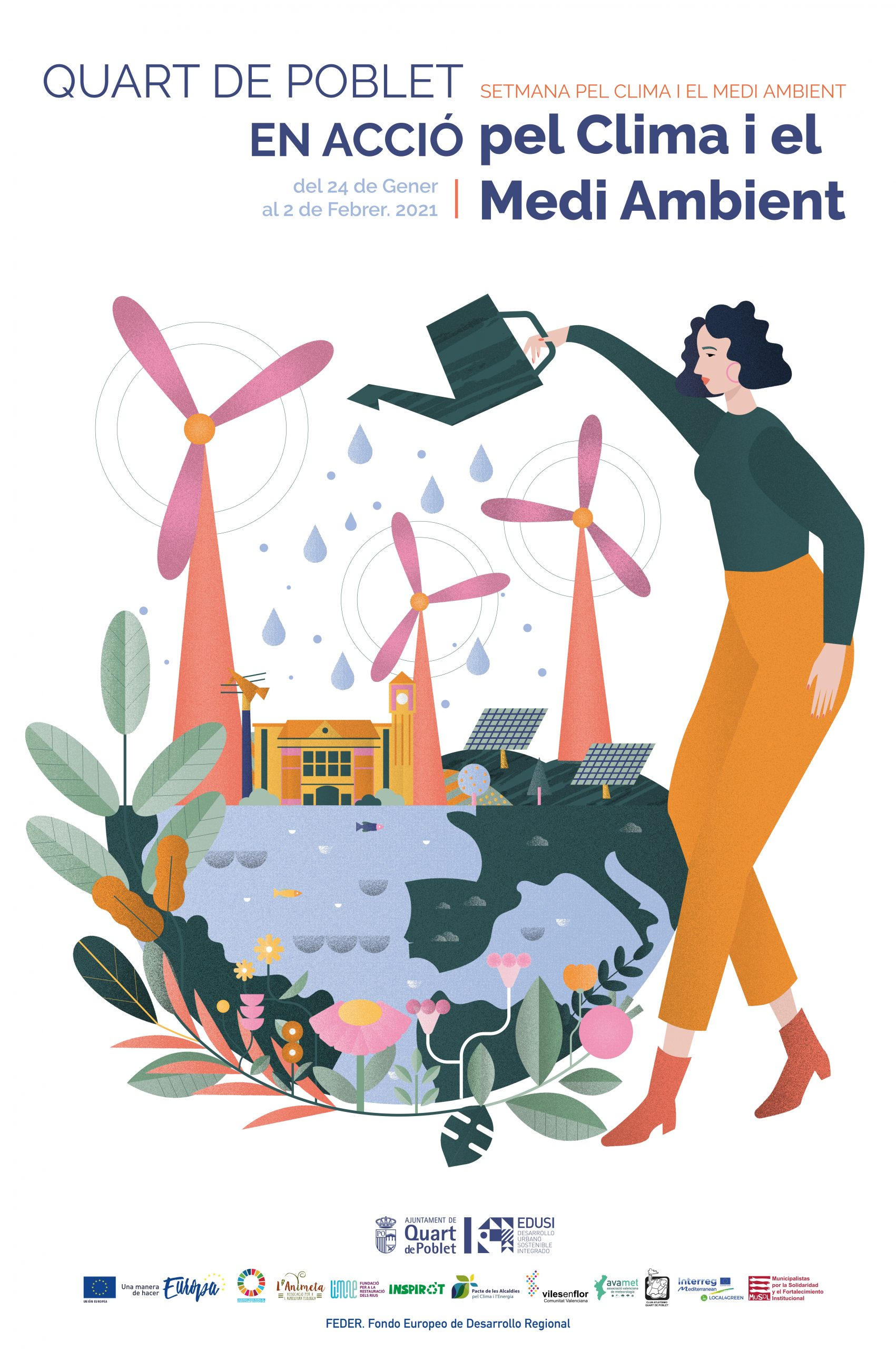 Quart de Poblet celebrará la Setmana pel Clima i el Medi Ambient del 24 de enero al 2 de febrero